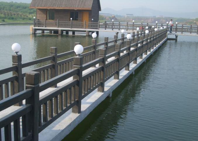 广州米乐体育app官网海工混凝土水上栈道及水上房屋