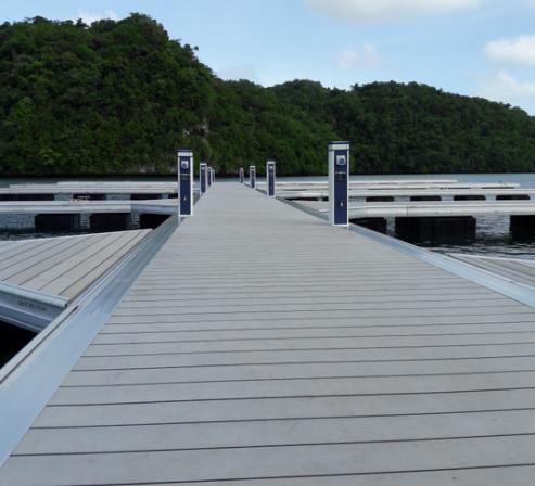 铝结构游艇码头