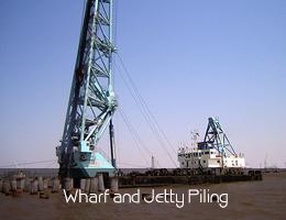 Hang bridge Marina Yacht piling