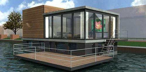 漂浮水上房屋/移动水上建造