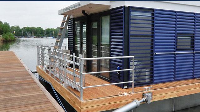 水上平台房屋设计及建造