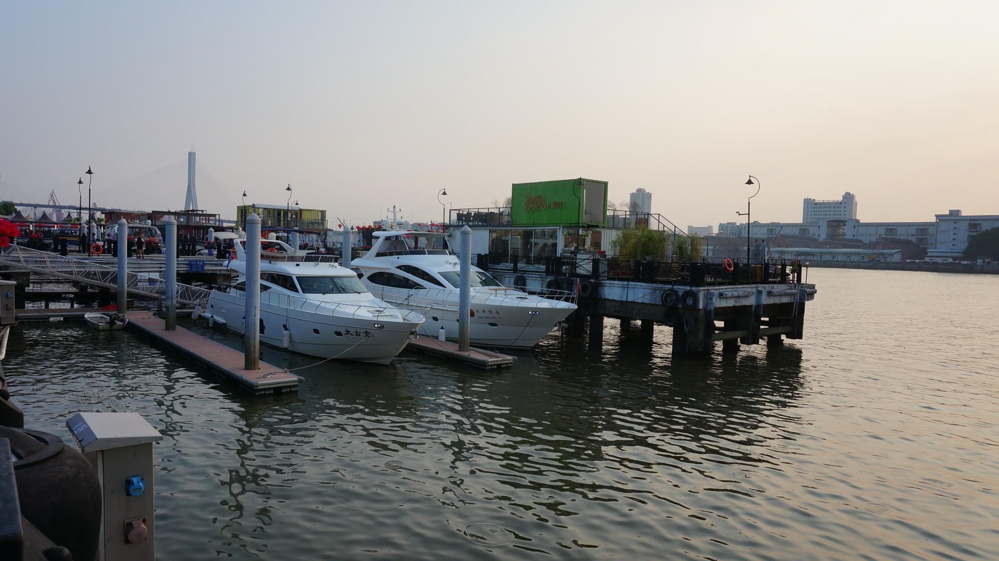 Maintenance project of Guangzhou Taigu Wharf (phase 1)