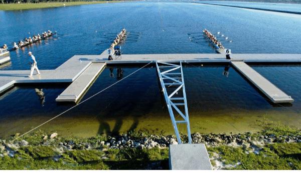 广州市恒桥海赛艇码头设计,建造