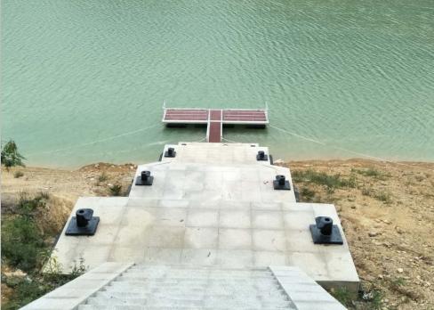 深圳海事局执勤铝合金浮码头工程