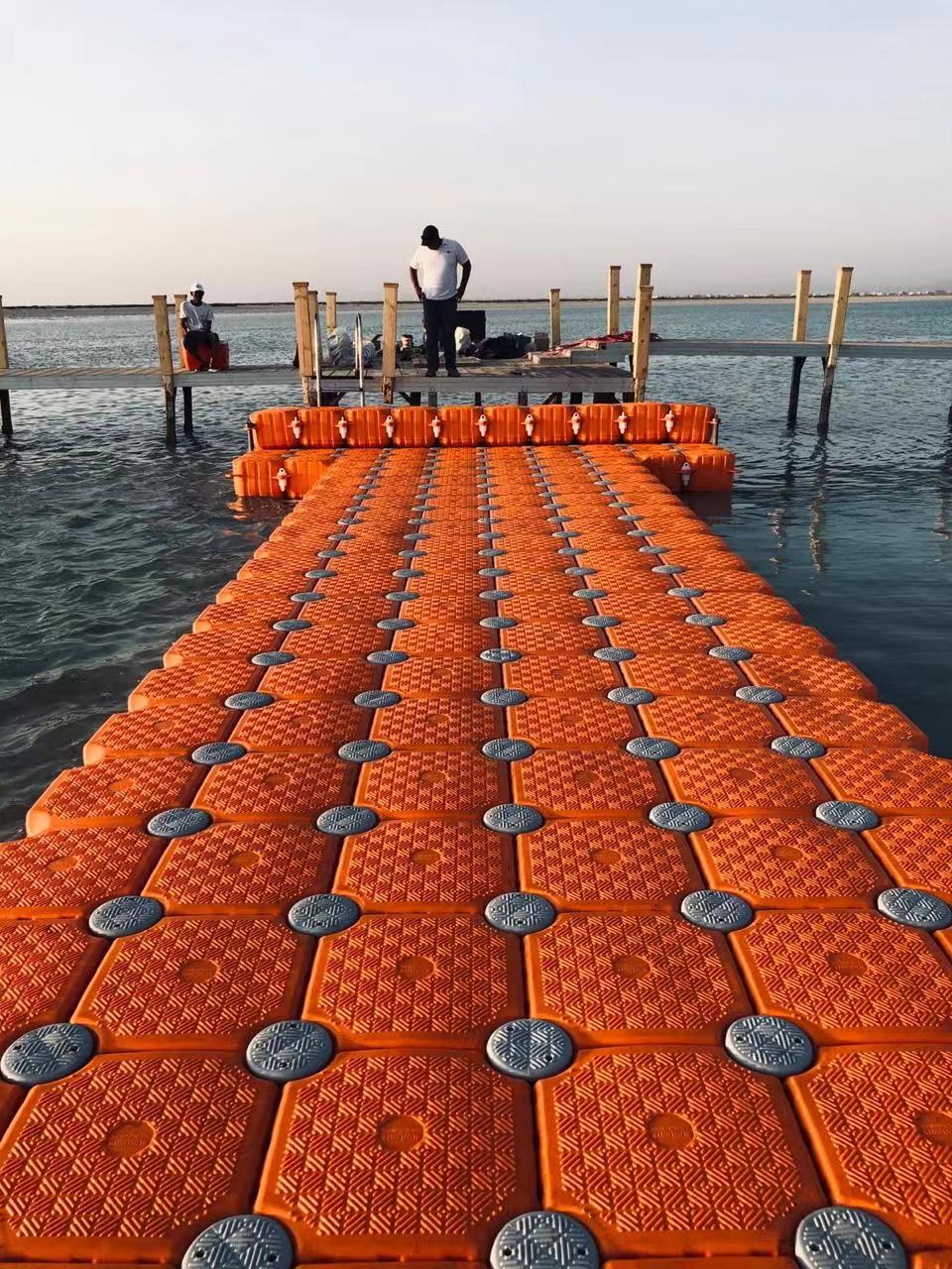 Water work platform