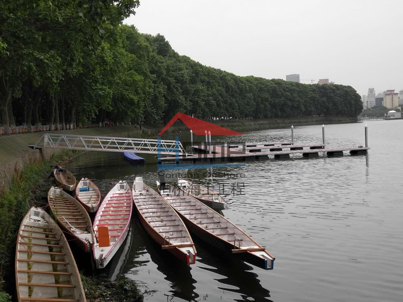 武汉大学龙舟赛事码头